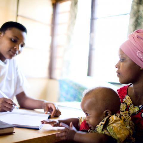 Maternal health care in Rwanda