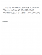 COVID-19 Workforce Surge Planning Tools