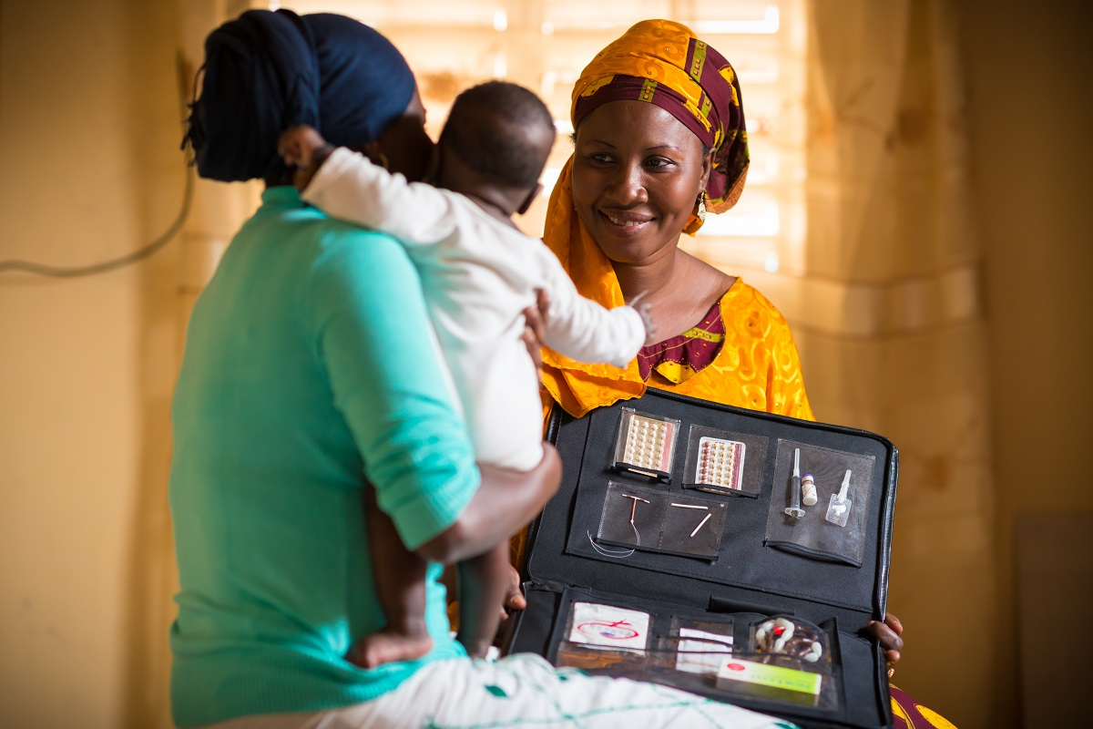 Photo taken in Senegal for IntraHealth International by Clement Tardif.