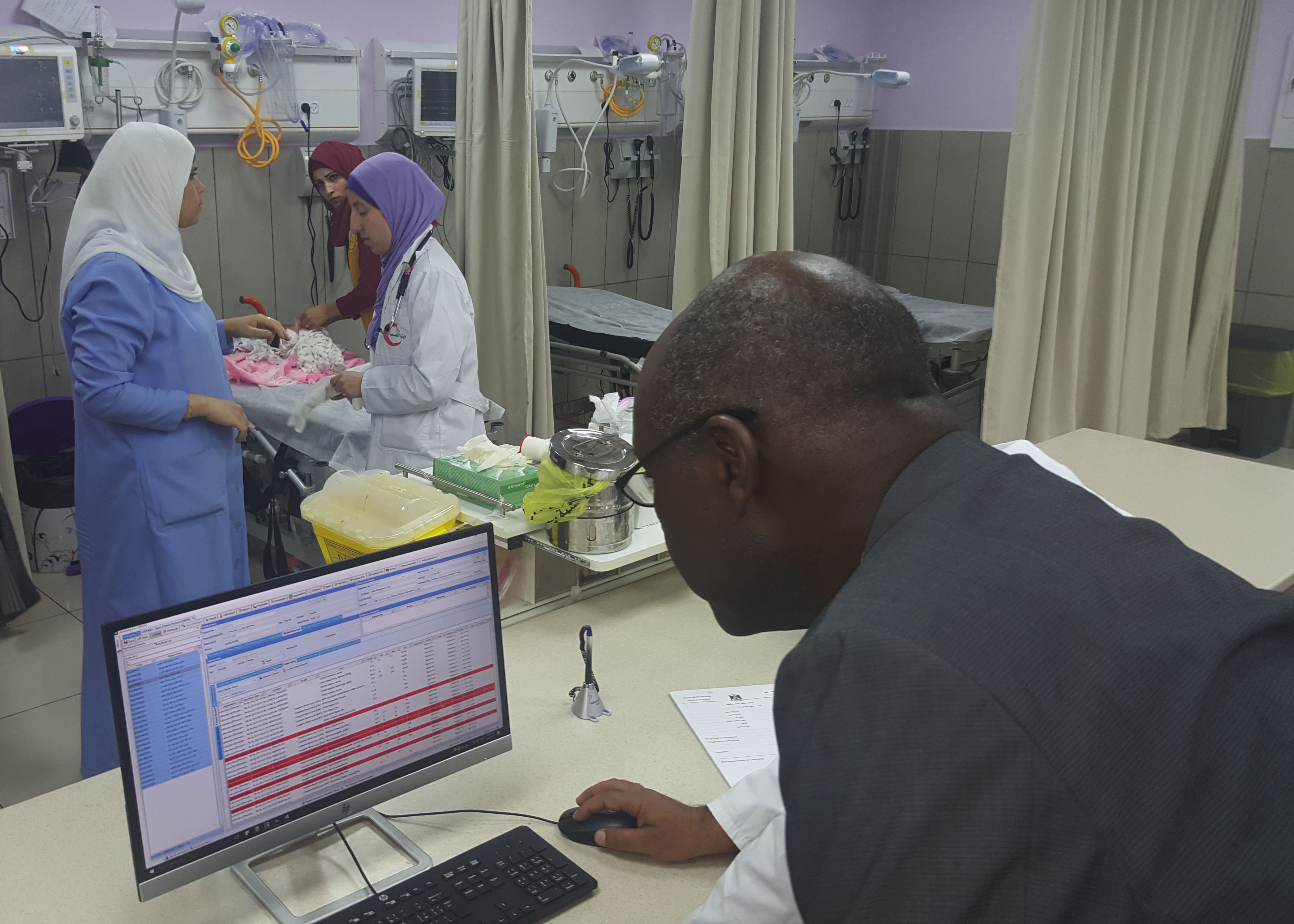 health information system at Palestinian Medical Complex